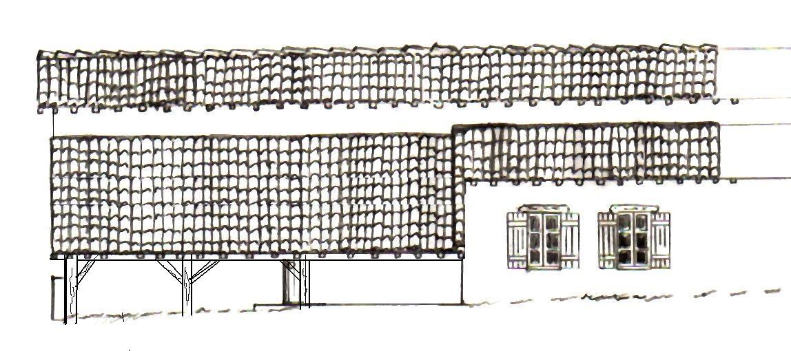 Etude de proget avec permis de construire langui david for Papier pour permis de construire
